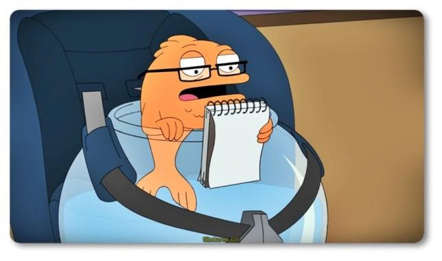 Stan dizide bir CIA ajanıdır her insandan şüphe duymaktadır. Francine dizide Stan'in evlisidir.Sarı saçlıdır Stan'in CIA olmasından rahatsızlık duymaktadır. Roger dizide bir uzaylı karakteri canlandırmaktadır. Uzay ırkı tarafından dünyaya bırakılmıştır. Steve dizide Stan ve Francine'nin oğludur. Hayley dizide Stan ve Francine'nin kızıdır. Adalete uyumlu birisidir. Klaus dizide bir konuşan bir balığı canlandırmaktadır.